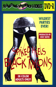 SPIKED HEELS AND BLACK NYLONS - DVD-R