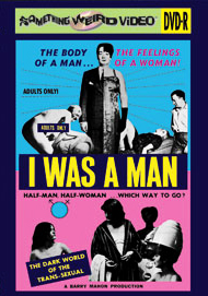 I WAS A MAN - DVD-R