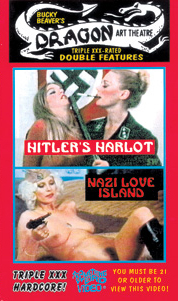 DRAGON ART THEATRE DOUBLE FEATURE VOL 001 : HITLER'S HARLOT / NAZI LOVE ISLAND - DVD-R