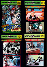 CLASSIC CARTOON RARITIES 10 DVD MEGA SET