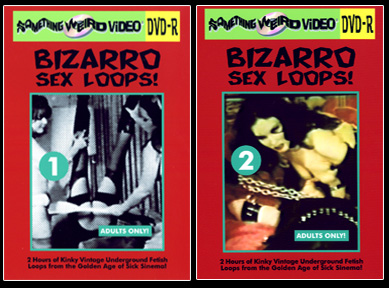 BIZARRO SEX LOOPS DVD Mega Set Vols 01-41