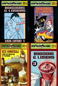 BOOZER & LOSERS Vols 1-3 plus Beer Commercials DVD Mega Set