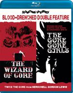 WIZARD OF GORE / GORE GORE GIRLS - Special Edition Blu-ray Double Feature