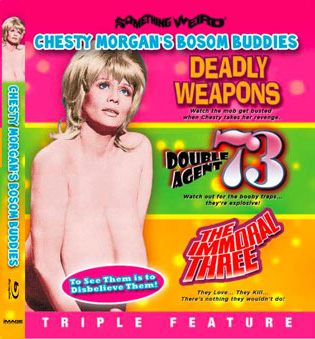 DEADLY WEAPONS / DOUBLE AGENT 73 / IMMORAL THREE - Blu-Ray