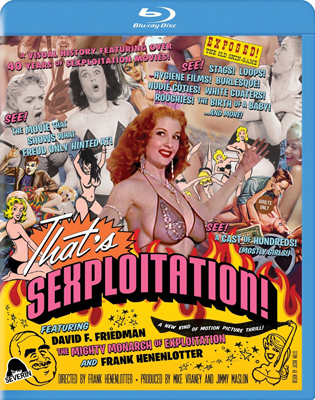 THAT'S SEXPLOITATION! - Special Edition Blu-Ray DVD
