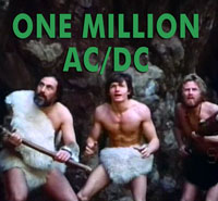 ONE MILLION AC/DC - Download