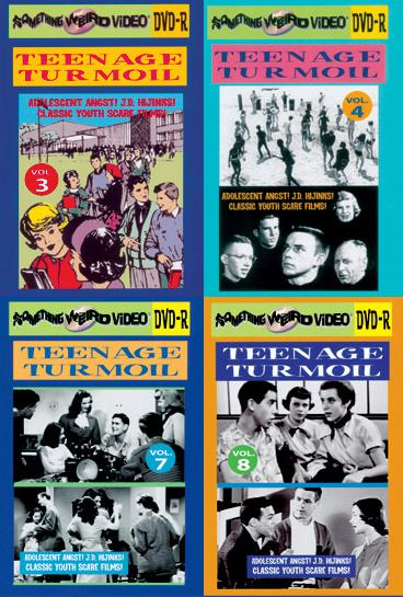 TEENAGE TURMOIL DVD Mega Set Vols 1-13