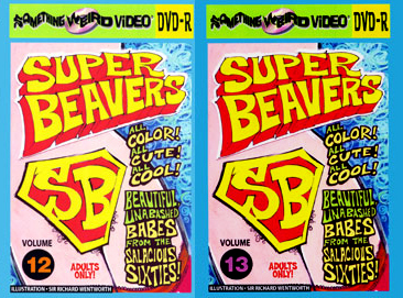 Bucky's SUPER BEAVERS DVD Mega Set Vols 01-13