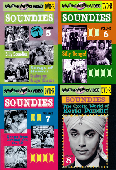 SOUNDIES Music That's Nice DVD Mega Set Vols 1-8